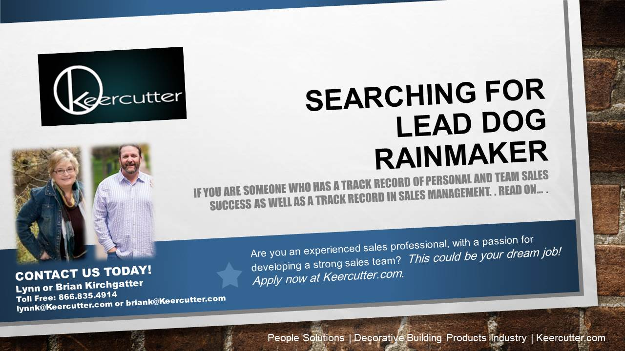 searching for the lead  u0026quot rainmaker u0026quot